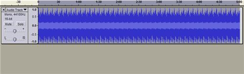 how to create a track audacity