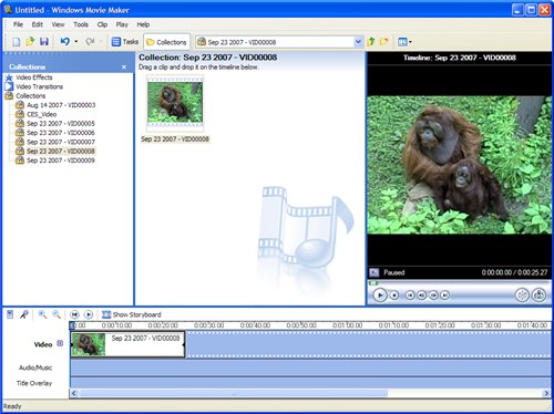 Edit flip camcorder videos in windows movie maker jake ludingtons flip video library once ccuart Images