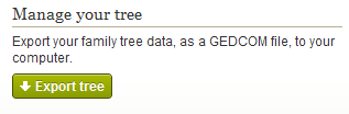Ancestry.com export tree as GEDCOM