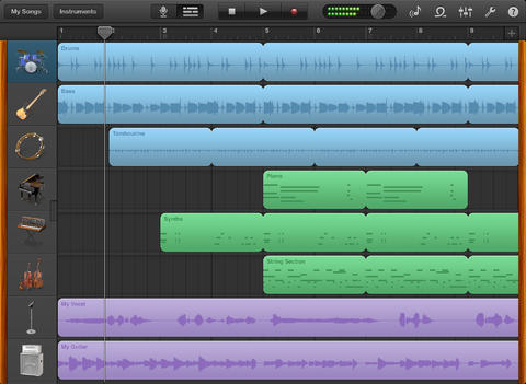 how to make a song on garageband mac