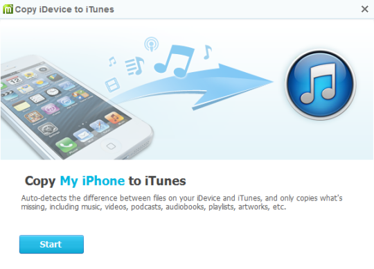 Merge iTunes and iPhone or iPad libraries