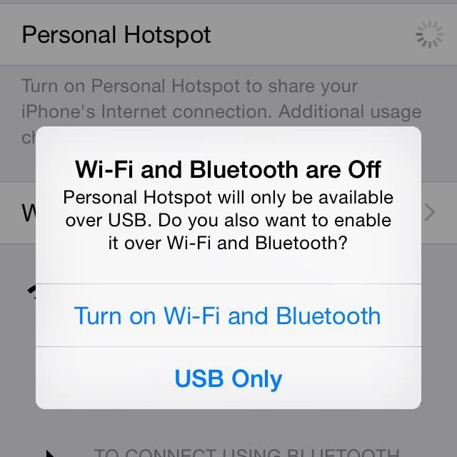 WiFi and Bluetooth disabled on iPhone