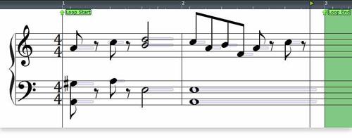 Mixcraft Automatic Notation