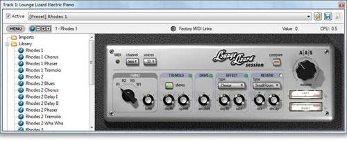 Mixcraft Lounge Lizard Sessions