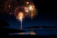fireworks photograph by jml5571 via iStockPhoto.com