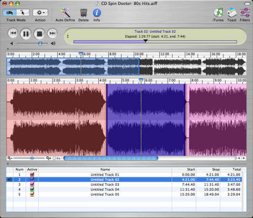 Convert vinyl to MP3 on a Mac