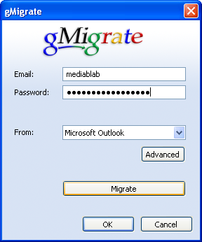 Move from Outlook to Gmail