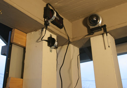 Build Your Own Solar Powered Security Camera