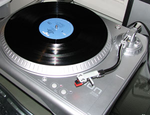 Ion USB turntable
