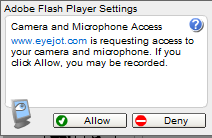 Activate Webcam Access
