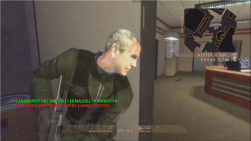 play Rainbow 6 as George Bush